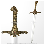 "27"" Games Of Thrones Officially licensed OathKeeper Foam Sword HBO TV LARP"