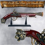 1688 Pirate Gun Flint Lock Blunderbuss Replica Pistol