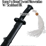 Chinese Martial Art Kung Fu Broad Sword Niuwei Dao Scabbard