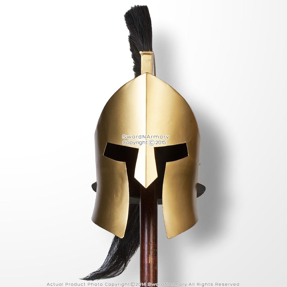 King Leonidas 300 Greek Spartan Trojan Warrior Helmet LARP ...