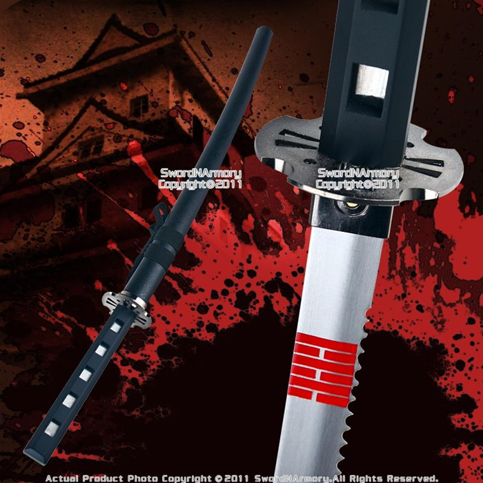 Black Snake Eyes Samurai Katana Full Tang Ninja Sword