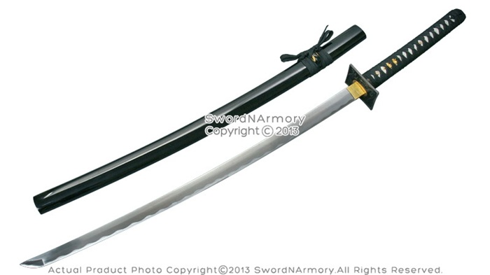 41 Quot Hand Honed Samurai Katana Sword With Ninja Style