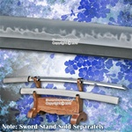 Musashi Hand Forged Shirasaya Katana Sword Differentially Hardened Folded Steel