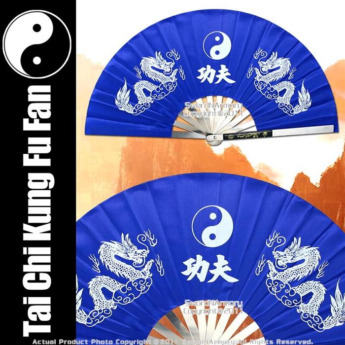 Martial Art Tai Chi Kung Fu Fighting Fan Steel
