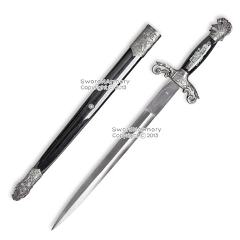 Masonic Ceremonial Dagger Mason Knights of Templar St. John Historical Sword