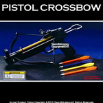 50 lbs Mini Pistol Crossbow Bolts W/ 5 Bolts Arrow