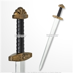 "41"" Foam Viking Warrior Arming Sword w/ Inner Core for Cosplay LARP Costume Prop"