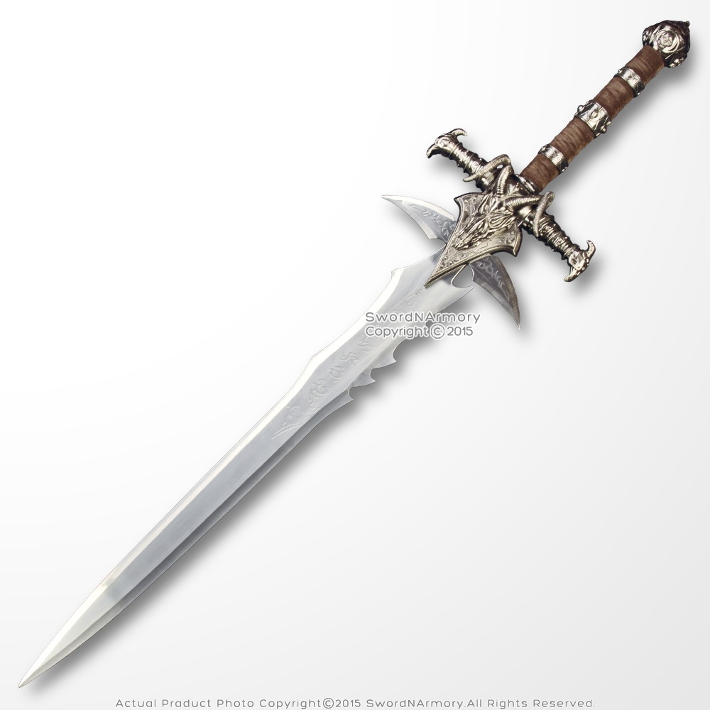 47'' Two Handed Decorative Fantasy Anime Great Sword Video Game Weapon  Replica