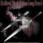 Medieval Knight's Short Sword Fantasy Dagger with Sheath Movie Replica Blade
