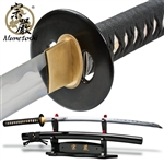 Munetoshi Handmade Competition Performance Cutter Katana Sword 1075 Spring Steel