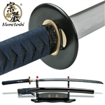 Munetoshi Handmade Competition Performance Katana Sword 1075 Spring Steel Blue
