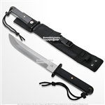 "25"" Tanto Stainless Steel Sharpened Blade Japanese Knife With Sheath Hunting Knife"