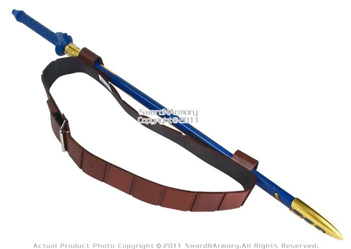 Medieval Brown Back Hanger Baldric Sword Belt