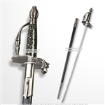"38"" Zorro Movie Replica Rapier Renaissance Sword Cosplay Costume with Sword Bag"