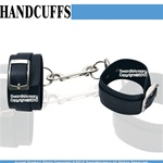 Adjustable Leather Fleece-lined Restraints Hand Leg Wrist Cuffs