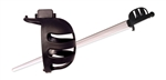 Synthetic Basket Hilt Guard-Black by Red Dragon Armoury