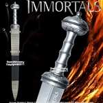 This is the officially licensed Immortals Sword of Theseus.
