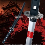 Black Snake Eyes Samurai Katana Full Tang Ninja Sword