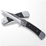 Buckshots Spring Assisted Opening Hunter Folding Pocket Knife with G10 Handle