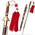 "31.5"" Blade Functional Tai Chi Sword Martial Arts Practice with Copper Fittings"