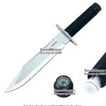 "14 "" Marine Combat Hunting Bowie Knife With Survival Kit"