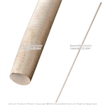 "76"" Natural White Wax Wood Bo Staff Martial Arts Tapered Karate Stick Kung Fu"